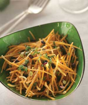 Marinated Spiced Carrot Salad