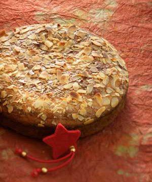 Good luck foods include this Greek traditional bread recipe, Vasilopita.
