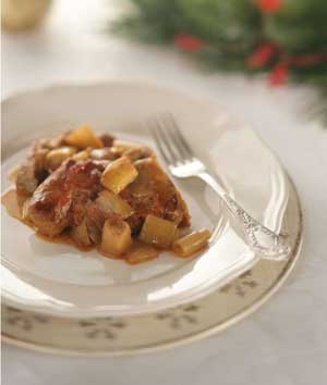 Naoussa style braised christmas pork and leeks greek food greek christmas braised pork and leeks forumfinder Gallery