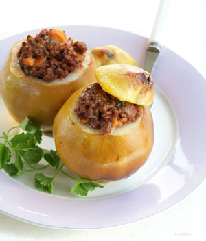 Meat Stuffed Quince