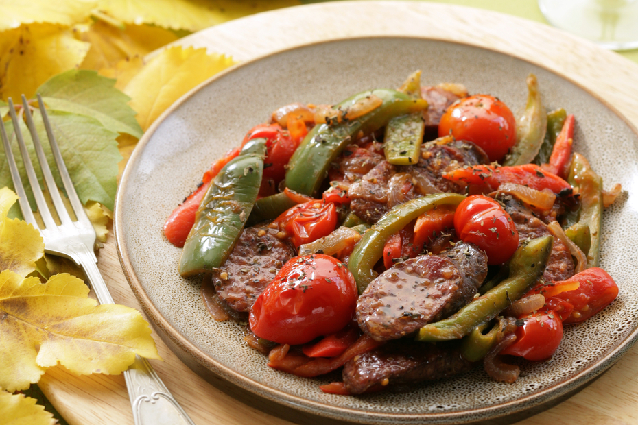 Sausage_Peppers_Spetsofai