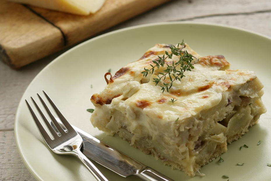 Artichoke Gratin from Tinos, in the Cyclades. Photo: Vassilis Stenos