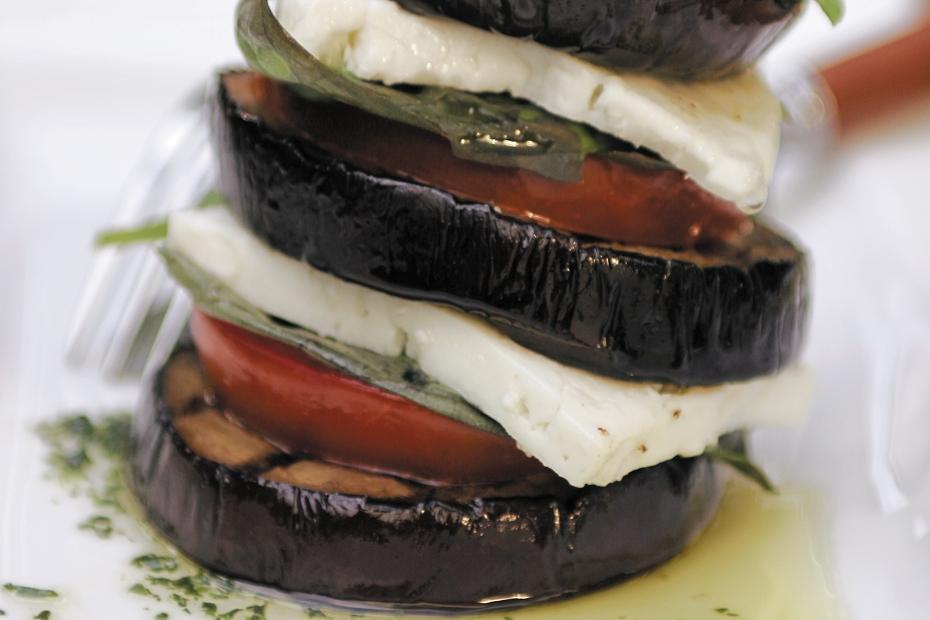 Grilled-eggplant-terrines-w-tomatoes-and-feta