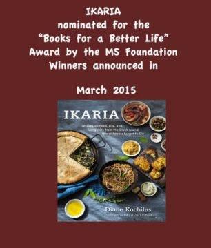 Ikaria nominated for Books for a Better Life Award