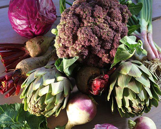 Spring Vegetables. Photo: Vassilis Stenos