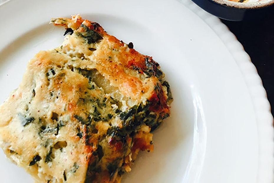 Spinach-Feta Lasagna