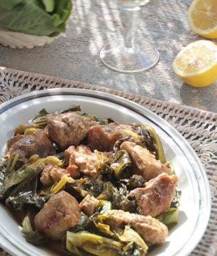 Ikaria-Christmas-Pork-with-Collards-or-Bok-Choy