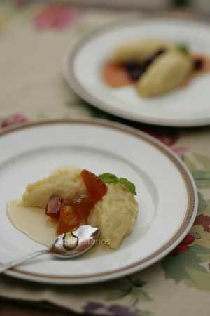 Corn, Polenta, Sweet, Dessert, Mediterranean Diet, Greek cooking