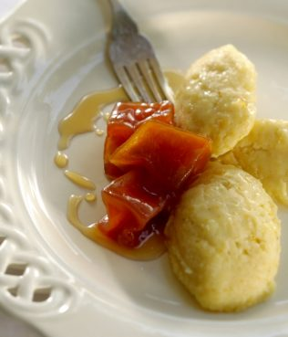 N. Greek Sweet Polenta with Pumpkin Preserves