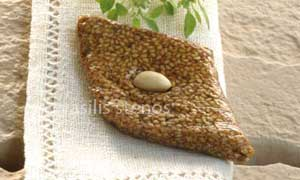 Greek sesame confections were the first energy bars in the Mediterranean Diet.