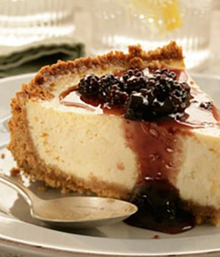 Greek Yogurt Cheese Cake with Mastiha
