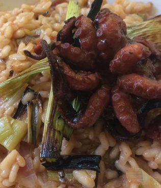 Octopus Risotto