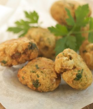 Smyrna Style Cod Fritters