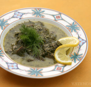 Mageiritsa, the Greek Easter soup
