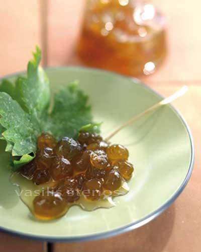 Grape Spoon Sweet, called Stafyli Glyko