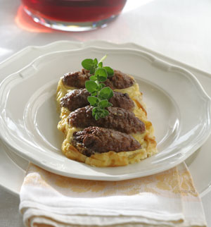 Boubari, Ground Meat Sausage from Macedonia