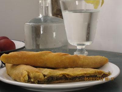 Ikarian Onion-Wild Fennel Pie