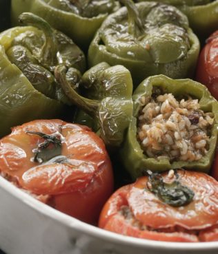 Stuffed Summer Vegetables - Gemista