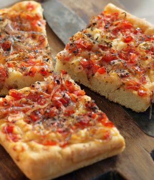 Ladenia - Vegan Pizza-Style Flatbread from Milos and Kimolos