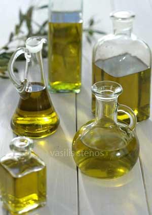 Greek extra virgin olive oils