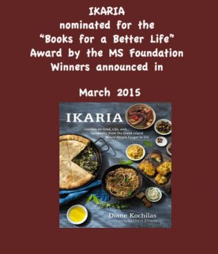 Ikaria Book Nominated for Prestigious Award