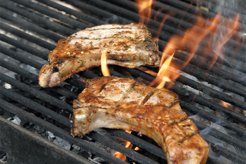Classic Greek Grilled Lamb Chops with Oregano and Olive Oil | Greek ... for Lamb Steak Bbq  14lpgtk