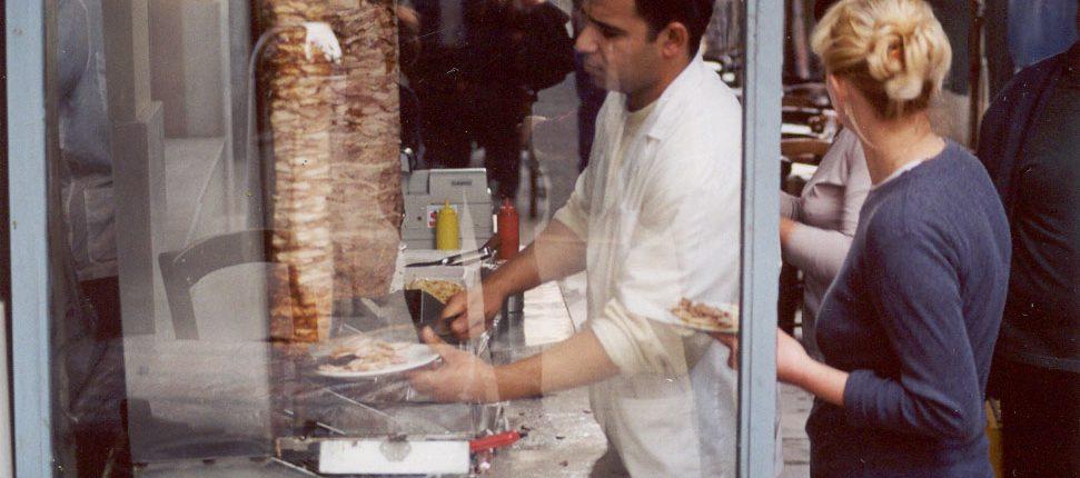 Monastiraki Athens Gyro Shop