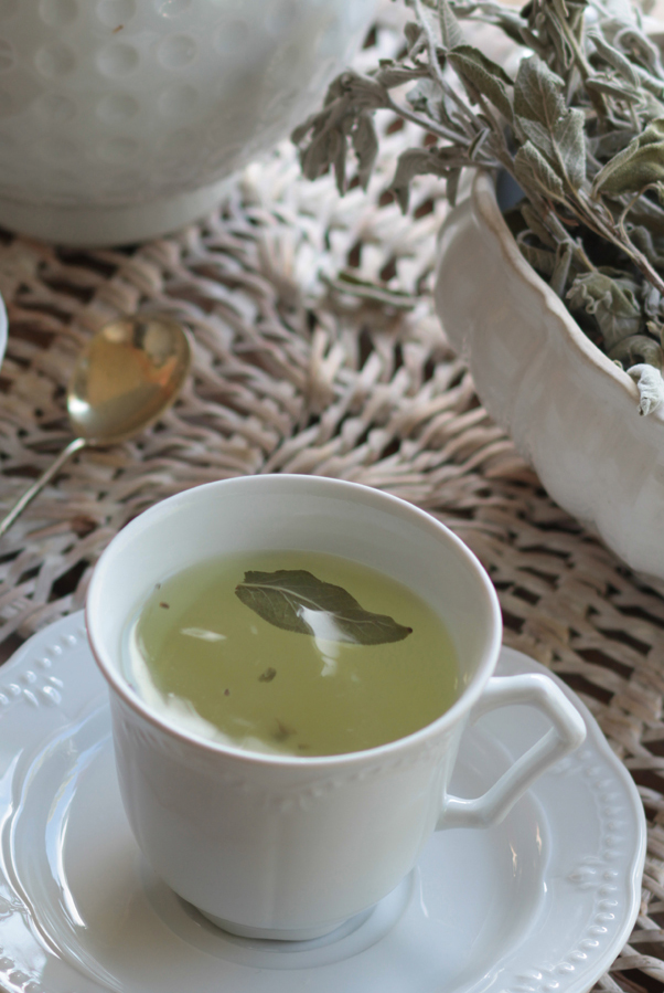 Sage tea, aka faskomilo. Photo: Vasilis Stenos