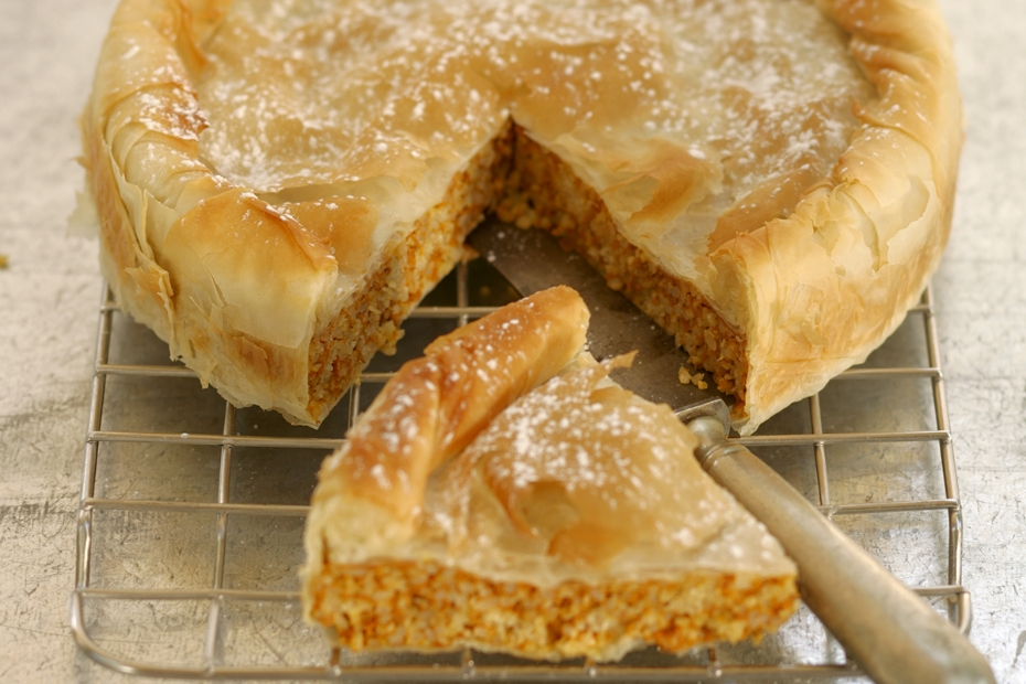 Fresh Pumpkin Phyllo Pie