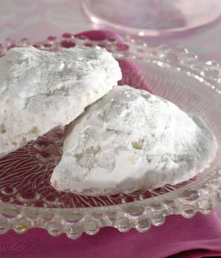 Kourambiedes, Greek Christmas Cookies: My family recipe