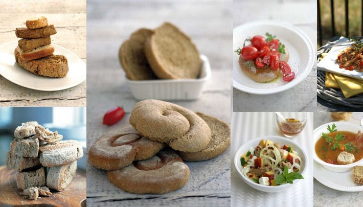 Whole grains in new forms: Greek rusks aka paximadia