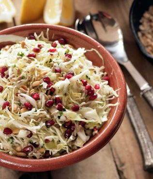 Ikaria Cabbage Pomegranate Superfood Slaw