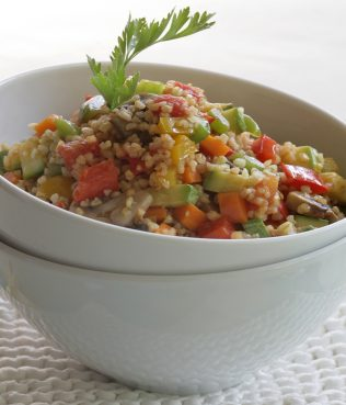 Vegetable Taboule with Mastiha and Mint