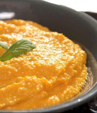 Spicy Carrot-Greek Yogurt Spread