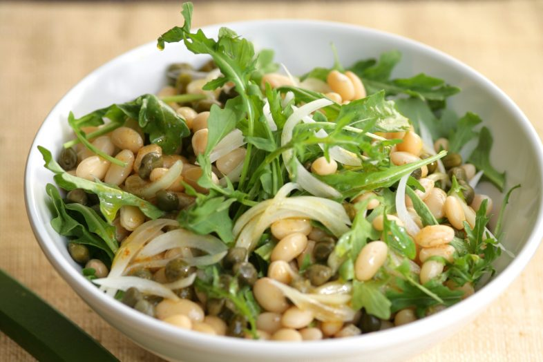 White Beans and Arugula Salad