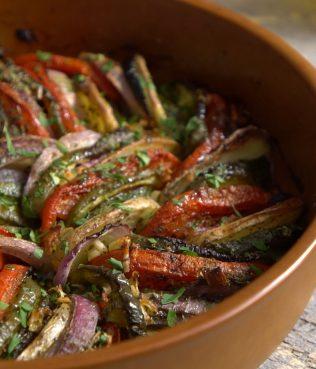 Briam, Roasted Vegetable Casserole