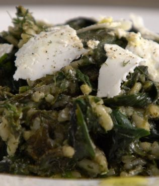 Hortorizo, Comforting Greens and Rice