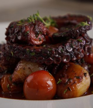 Braised Octopus with Olives