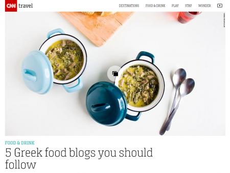 cnn travel 5 Greek food blogs you should follow