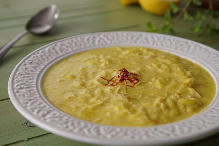 Classic Avgolemono Chicken Soup Greek Food Greek Cooking Greek