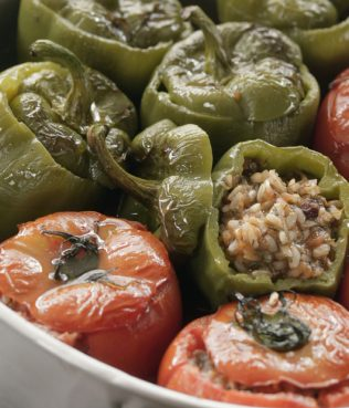 Three End-of-Summer Stuffed Tomato Dishes