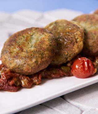 Favokeftedes (Yellow Split Pea Patties)