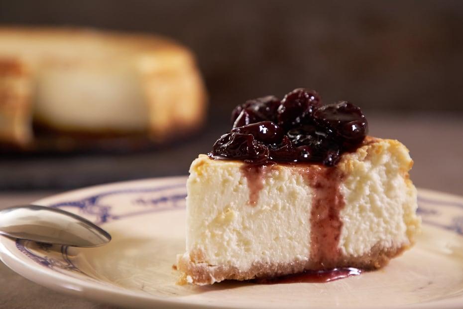 Greek Yogurt Cheese Cake with Mastiha