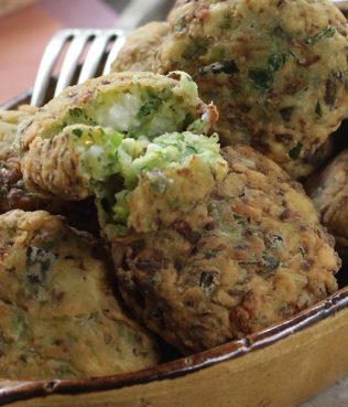 Ikaria Longevity Zucchini Patties, with Greek Oregano & Mint