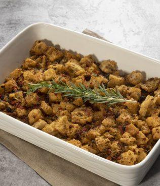 Greek-Olive Bread Stuffing