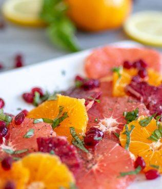 Citrus – Pomegranate Salad