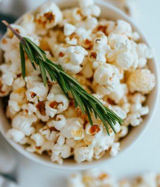 Rosemary-Olive Oil Popcorn