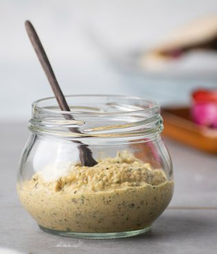 Zucchini - Greek Yogurt Spread